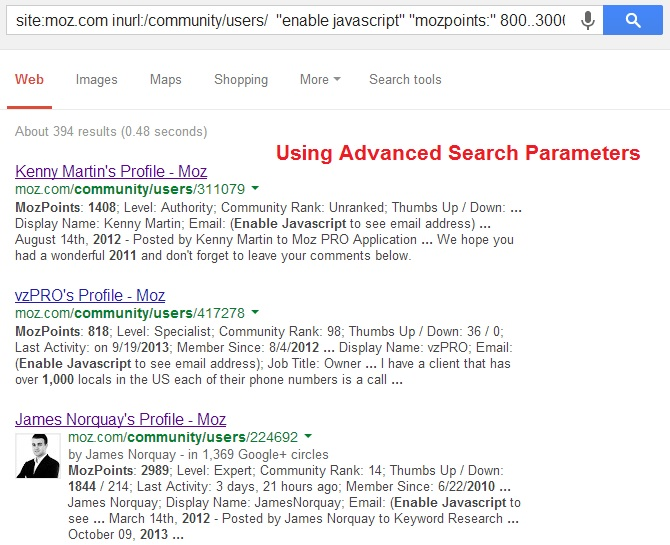 How I Smartly Used Google to Collect 358 Emails of Top Marketers