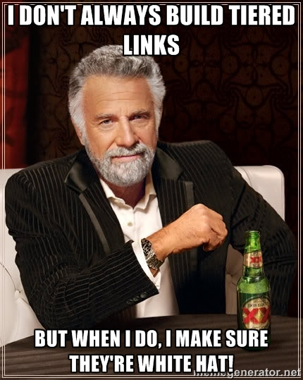 tiered link building meme